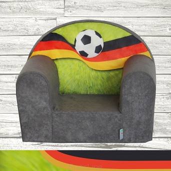 Kindersessel MINI Sessel FANZONE Football DE W387_17
