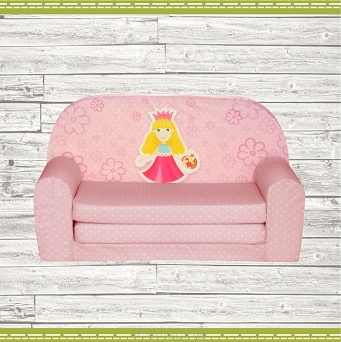 Kindersofa MINI Kindercouch W386_48 Prinzessin