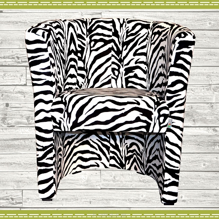 Clubsessel Sessel Coctailsessel W042 ZEBRA