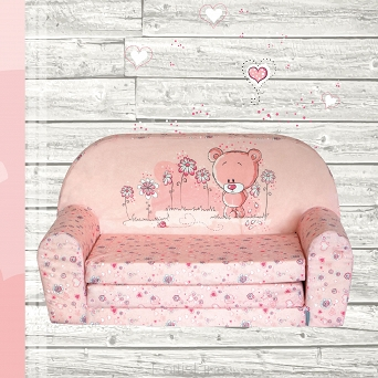 Kindersofa MINI Kindercouch W386_04 Bärchen